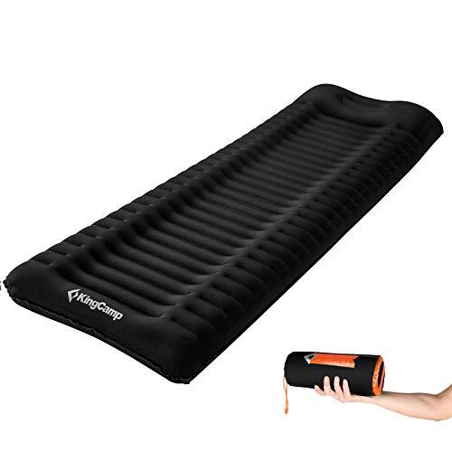 KingCamp Isomatte Comfort Deluxe Trekking Camping Luft Bett Matratze 10 cm 1,3kg