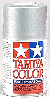 Tamiya America, Inc Polycarbonate PS-41 Bright Silver, Spray 100 ml, TAM86041