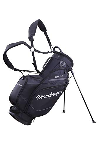 "MacGregor Golf MACTEC 7.0 Golf Club Stand Bag, 9.5\"" , Schwarz"
