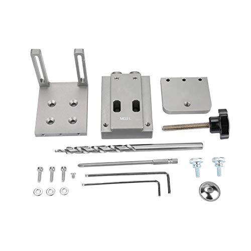 Broco Mini Jig Kit, Step Drill Bit Mini tasca di stile Hole Jig Kit for la lavorazione del legno Set