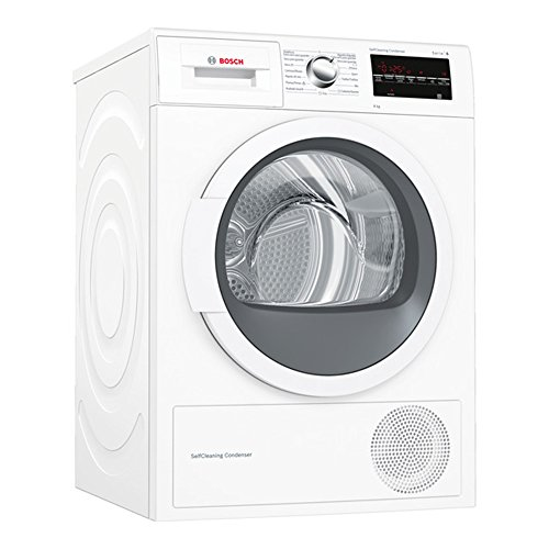 Secadora – Bosch WTG87238EE, Bomba de calor, 8 Kg, A++
