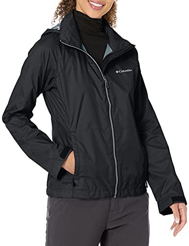 Columbia Women's Plus Size Switchback III Jacket, Black, 1X
