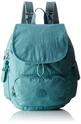 Kipling Damen City Pack S Rucksack Blau (Aqua Frost)