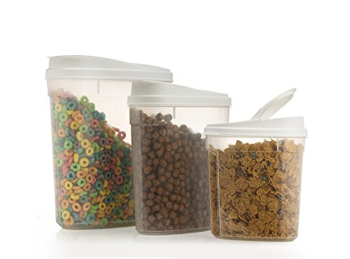 Best Prices! Freshbox cereal dispenser (SET OF 3) super quality cereal container BPA-free dishwasher...