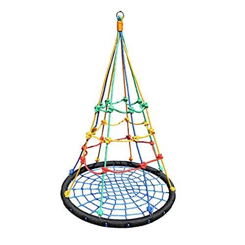 JTKDL Swing, niños Swing, Swingset Redondo con Cuerdas Colgantes Ajustables para Columpios Interiores