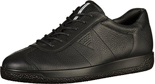 Ecco Herren Soft 1 Sneaker, Schwarz (Black), 43 EU