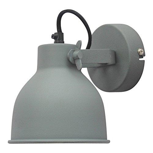 Urban Interiors Industrial Large Wandlamp Grijs - Stelbaar - Ø14