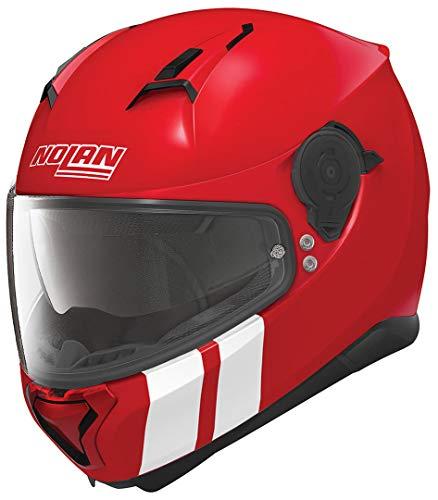 Nolan N87 Integralhelm Martz N-Com Corsa rot XL - Motorradhelm