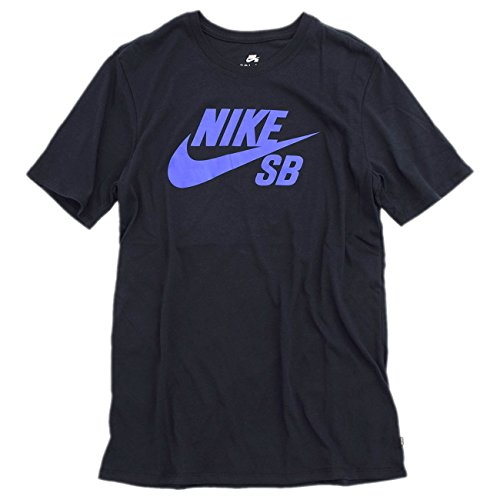 [ナイキ] NIKE Tシャツ 半袖 メンズ SB USA ロゴ SB サイズL ブラック/ブルー(019)