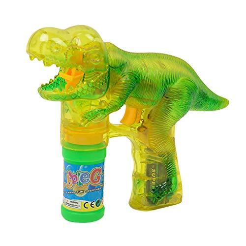 Máquina de pompas de jabón, juguete para niños Bubble Machine con 2 botellas de pompas de jabón líquido Bubble Maker Juegos con luces LED y música para niños niñas bebé