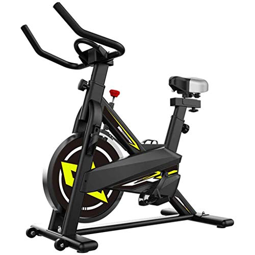 YHSFC Heimtrainer, Heimtrainer mit LCD ausgestattet einstellbarem Zyklus Widerstand Fitness Fitnessgeräte Fitness-Cardio-Training Arm-, Indoor-Cycling