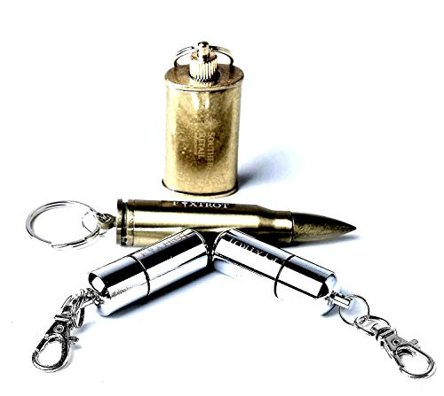 Save %35 Now! FOXTROT Survival Capsule Peanut Lighters with Copper Canister and Rifle Bullet Shaped ...