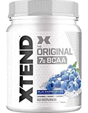 Scivation, Xtend, The Original 7g BCAA, Blue Raspberry Ice, 1.5 lb (700 g) 50 Servings