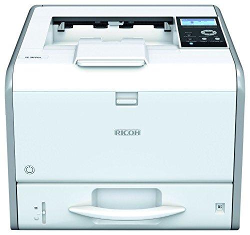 RICOH SP 3600DN A4 Mono Laserdrucker 30ppm 250Blatt Papierkassette