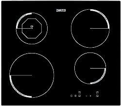 Zanussi ZEI6840FBA hobs - Placa (Integrado, Inducción, Cerámico, Tocar, Arriba a la derecha, 1,5m) Negro