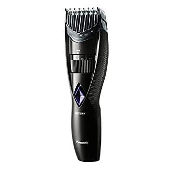 Panasonic Wet and Dry Cordless Electric Beard and Hair Trimmer for Men Black 6.6 Ounce