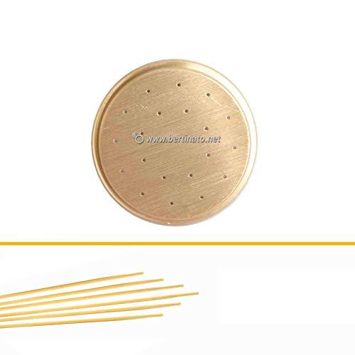 Trafila in bronzo per Pasta Capelli d'angelo per macchina pasta fresca professionale La Fattorina 1,5kg compatibile con FIMAR MPF 1,5