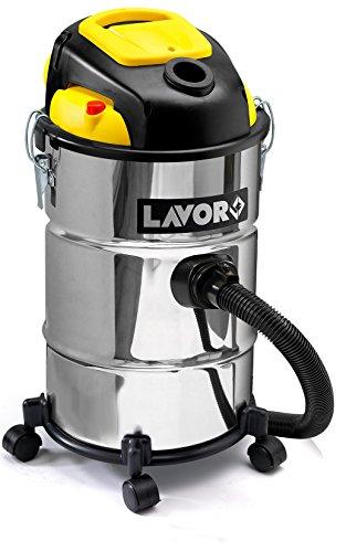 LAVOR 8.243.0027 - Aspirador POKER 4IN1 capacidad 25 lt potencia 1200 (max 1400) W vacío 180 mbar 7,5 Kg