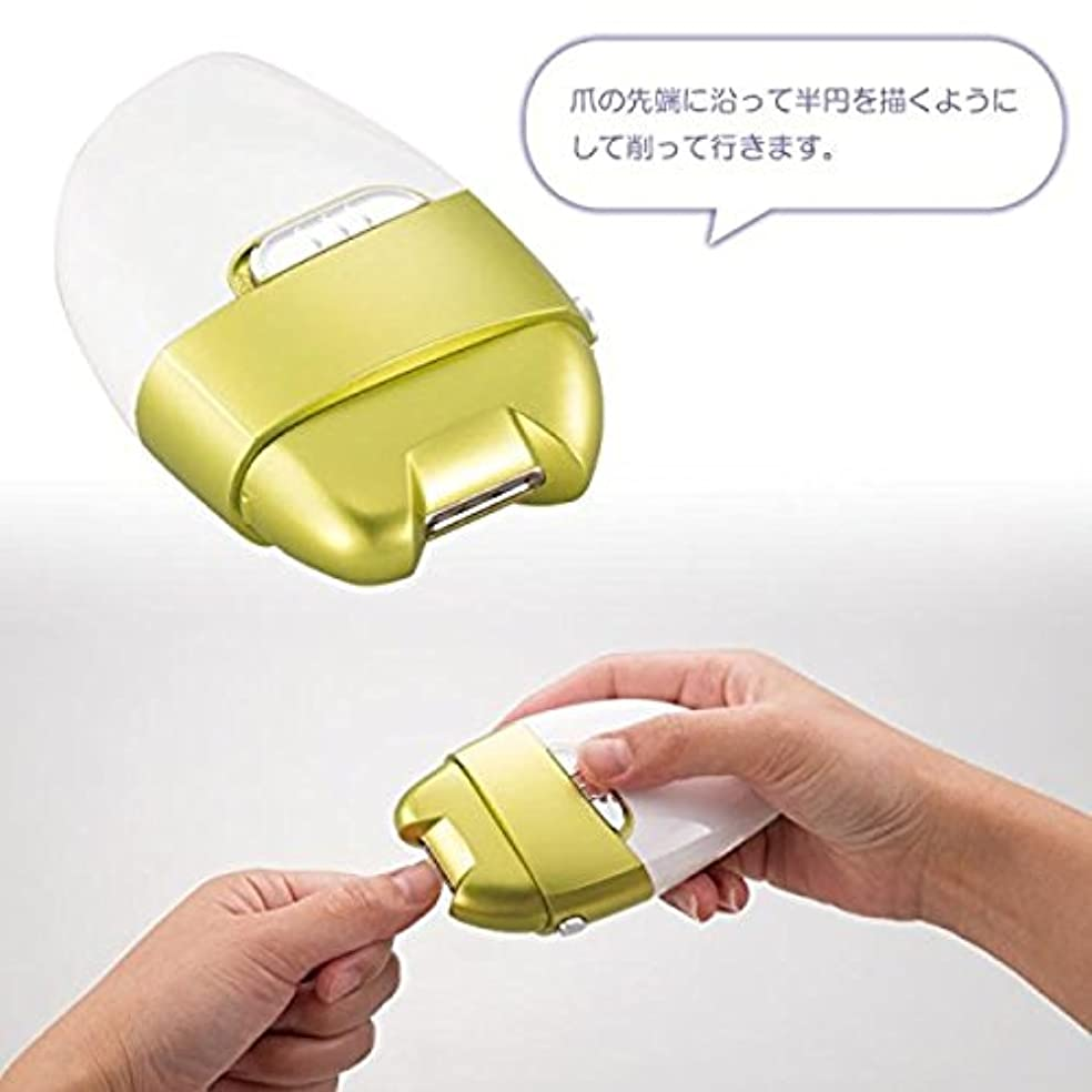 神経障害九時四十五分コジオスコ電動爪削り Leaf dS-1651428