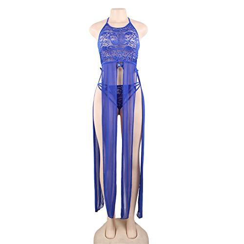 CZXN Kostüme für Erwachsene Bekleidung & Schuhe für Modepuppen Dessous sexy Split Ass Unterwäsche Frauen Hohle Spitze sexy für Frauen