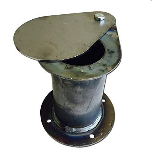 Pro Smoke BBQ Ugly Drum Smoker Kamin/Luftauslass mit Dämpfer