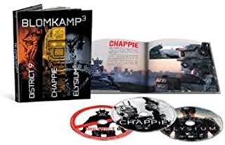 Chappie / District 9 / Elysium - Set [Blu-ray]