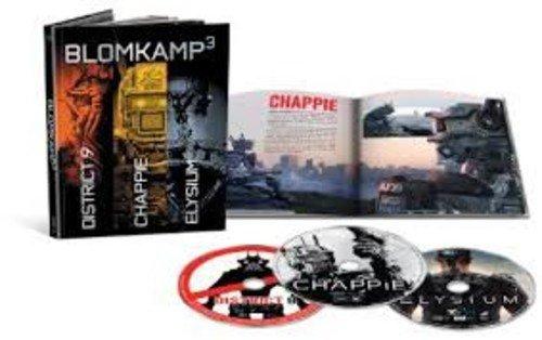 Chappie / District 9 / Elysium - Set [Blu-ray]