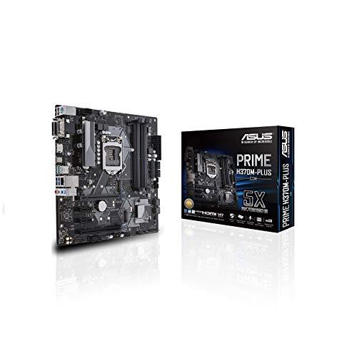 LGA1151 (300 Series) DDR4 HDMI DVI VGA M.2 mATX Motherboard (PRIME H370M-PLUS) - ASUS PRIME H370M-PLUS/CSM