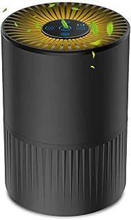 Luchtreiniger met HEPA-filter, 4-fasen filtratie, stille luchtreiniger voor thuis met 3 ventilatorsnelheden en aromatherap...