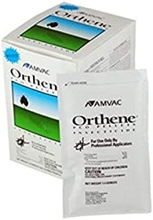 Orthene PCO Commercial Insecticide (1 Box = 10 packs) Excellent for German Roaches in Commercial Kitchens, la cucaracha