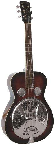 Oro Tono Paul barba Signature Series PBR Roundneck guitarra con resonador (Vintage) de caoba