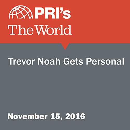 Trevor Noah Gets Personal audiobook cover art