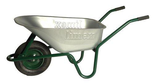 ALTRAD LIMEX Bauschubkarre Gartenschubkarre Grün 100l Liter Mulde verzinkt ***NEU***
