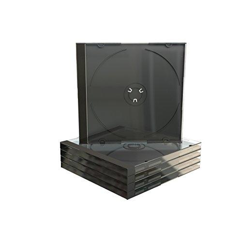 MediaRange BOX22-M CD-Leerhülle, 10, 4 mm Schwarz - 50 Stück