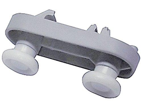 Conjunto rueda cesta lavavajillas. Mod. LJ062X