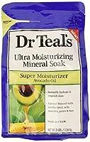 Dr Teal's ウルトラモイスチャライジング鉱物アボカドオイル、3ポンドでスーパーモイスチャライザーを浸し