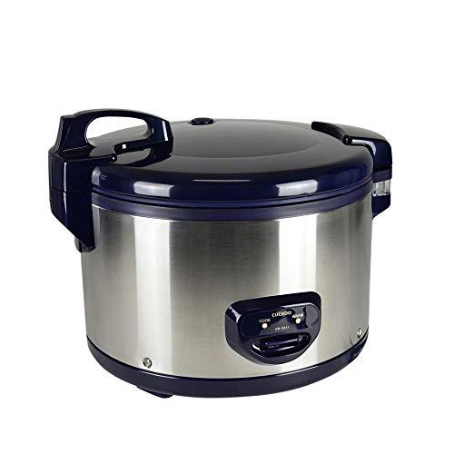 CUCKOO CR-3511 professionele restaurant rijstkoker voor 35 personen 6,3 l met warmhoudfunctie van roestvrij staal