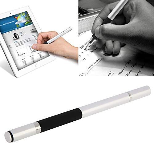 subtel® Universal 2 in 1 Touchpen Stylus + Kugelschreiber für Smartphone, Tablet - Eingabestift Touchscreen (iPhone X, Xr, Xs/Samsung Galaxy S9, S10 / Huawei P Smart, P20, Mate 20, etc.)