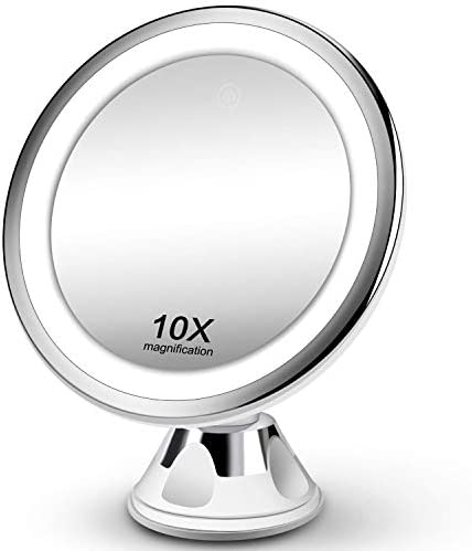 10X Magnifying Makeup Vanity Mirror with Lights...