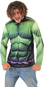 Marvel Incredible Hulk Sublimated Long Sleeve Costume T-Shirt  Adult XXX-Large