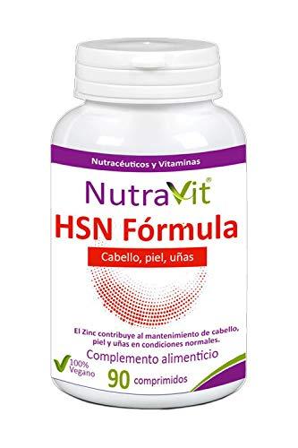 HSN FORMULA (90 COMPRIMIDOS) pelo,piel y uñas