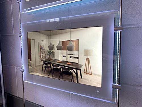 Monitor pubblicitario per vetrine a sospensione LED Display LD21.5HB – Visualizzatore di messaggi LCD Full HD Sospeso 55,5 cm (21.5') per vetrine – Schermo Digital Signage con alimentazione a cascata