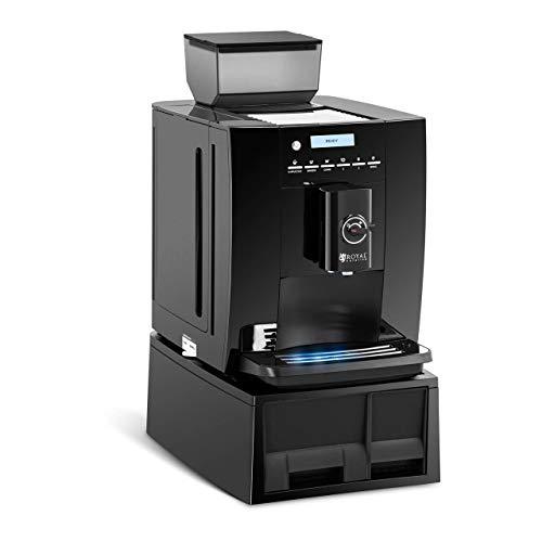 Royal Catering RC-FACMP Kaffeevollautomat bis 750 g Bohnen Milchaufschäumer 1,8 l Wassertank Kaffeemaschine