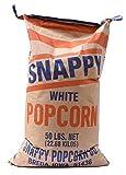 Snappy White Popcorn Kernels, 50 Lb Bag
