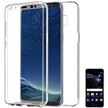 PLANETMOVIL [[ Huawei P20 Lite ]] Carcasa 360 Funda DE Silicona ...