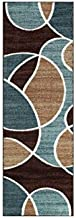 Better Homes and Gardens Geo Wave Printed Nylon Rug (2'6