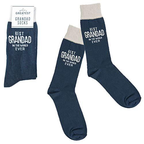 Harvey Makin Best Grandad In the World Socks