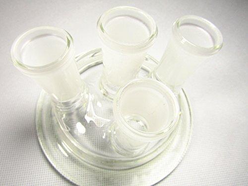 yifun comercio 100mm cristal Reactor tapa, 4-necks, dn100,24/29, Reactor Cap uso para matraz de reacción, cristalería de laboratorio