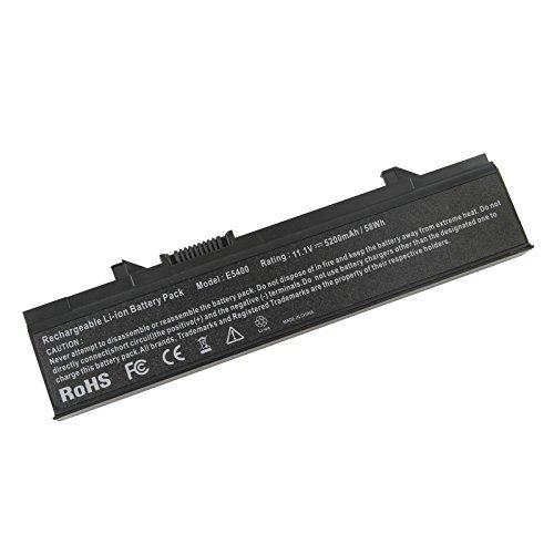 ARyee 5200mAh Batteria per Dell Latitude E5400 E5410 E5500 E5510 KM742 RM668 KM760 T749D