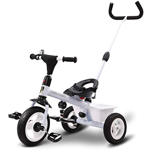 Review BLWX - Children's Tricycle Bicycle Baby 1-3-5 Years Old Child Self-Child Stroller Slip Baby A...